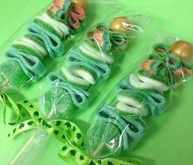 6 St Patricks Candy kabobs