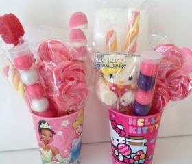 6 Party Favors Mini Buckets